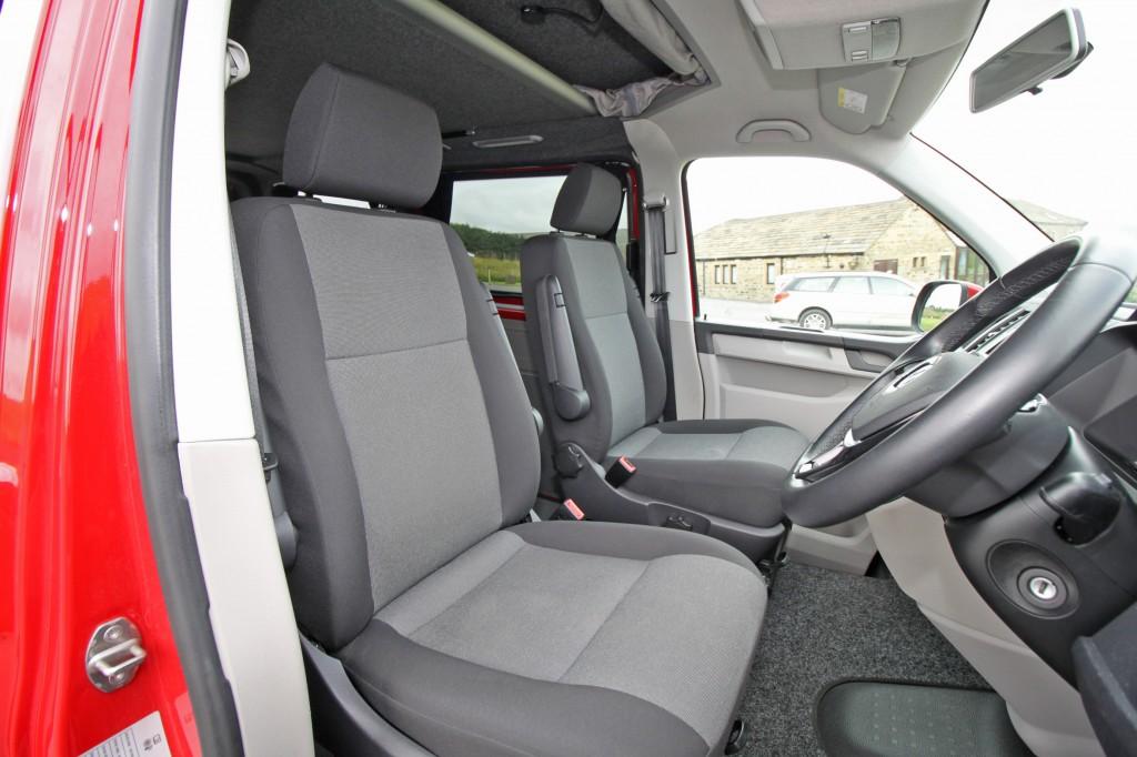 VOLKSWAGEN Transporter 4 Berth Pop Top Camper, RIB bed, 2.0 TSI petrol, one private owner, 11,000 miles