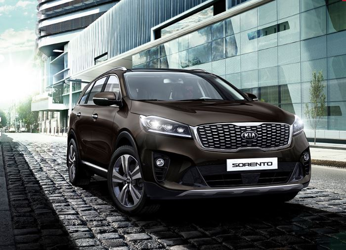KIA SORENTO KX-1 2.2 CRDi 197bhp 6-speed manual ISG 7-seat