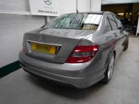 MERCEDES-BENZ C CLASS C180K BlueEFFICIENCY Sport 4dr Auto