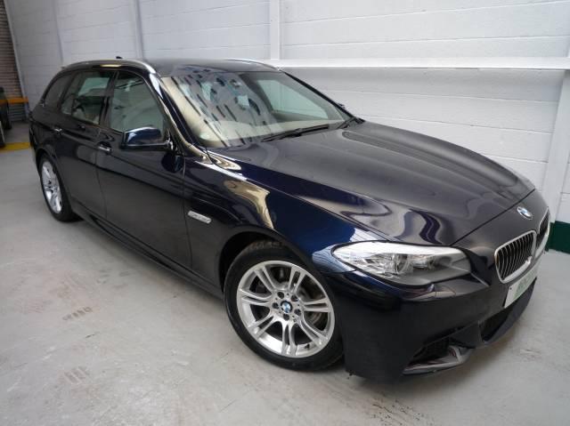 BMW 5 SERIES 525d M Sport 5dr Step Auto