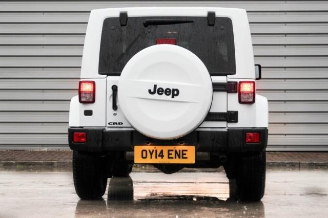 2014 (14) JEEP WRANGLER 2.8 CRD Overland 2dr Auto | <em>6,900 miles