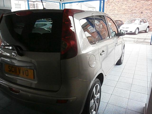 NISSAN NOTE 1.6 N-Tec 5dr Auto