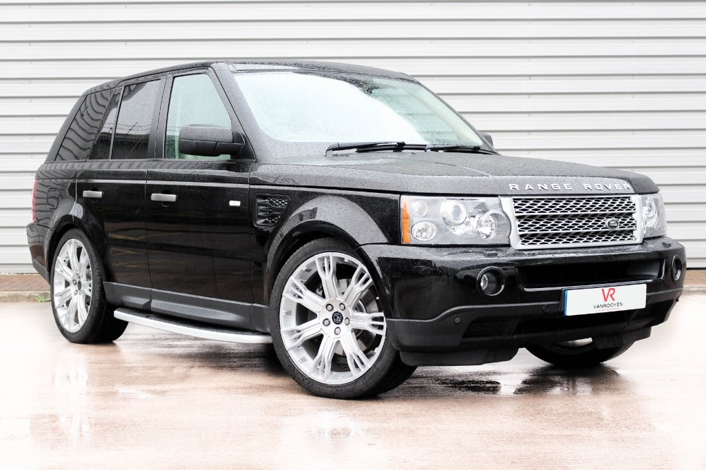 vr warrington land rover range rover sport 2 7 tdv6 hse 5dr auto for sale in warrington vanrooyen. Black Bedroom Furniture Sets. Home Design Ideas