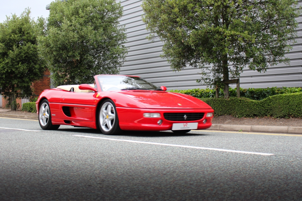 vr warrington ferrari f355 spider 2dr f1 for sale in. Black Bedroom Furniture Sets. Home Design Ideas