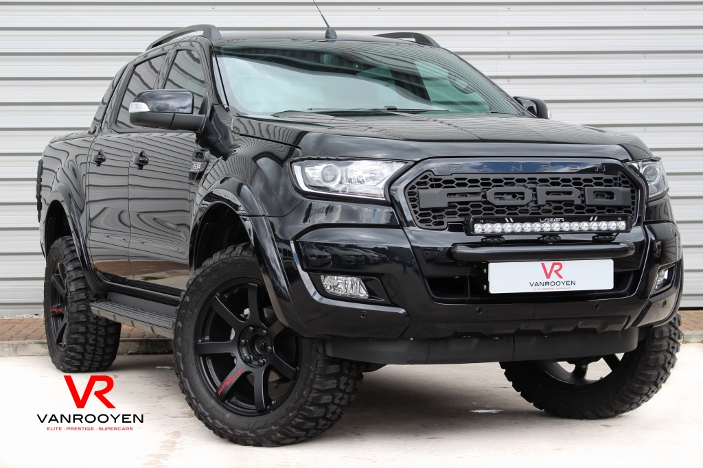 Vr Warrington Ford Ranger Rich Brit Nemesis Edition For