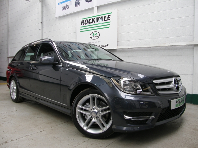 MERCEDES-BENZ C CLASS C250 BlueEFFICIENCY AMG Sport 5dr Auto