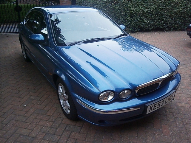 used cars blue pegasus car for type jaguar x saloon sale