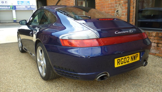 PORSCHE 911 3.6 CARRERA 4 S 2DR Manual