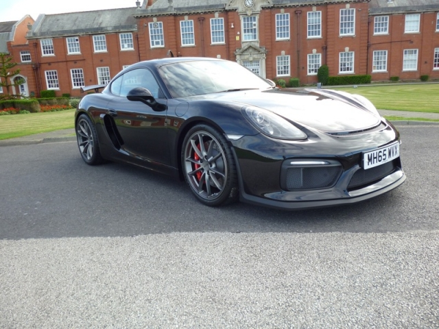 PORSCHE CAYMAN 3.8 GT4 2DR Manual