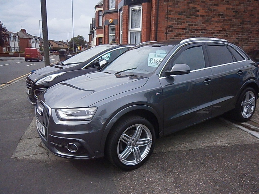 audi q3 2 0 tdi quattro s line 5dr semi automatic for sale. Black Bedroom Furniture Sets. Home Design Ideas