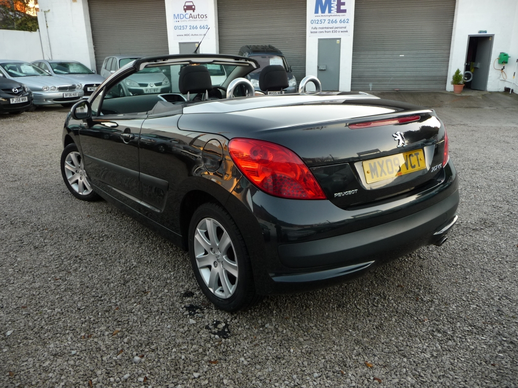 peugeot 207 1 6 sport coupe cabriolet 2dr manual for sale in chorley mdc autos. Black Bedroom Furniture Sets. Home Design Ideas