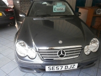 MERCEDES-BENZ C-CLASS 2.1 C200 CDI SE SPORTS 3DR Automatic