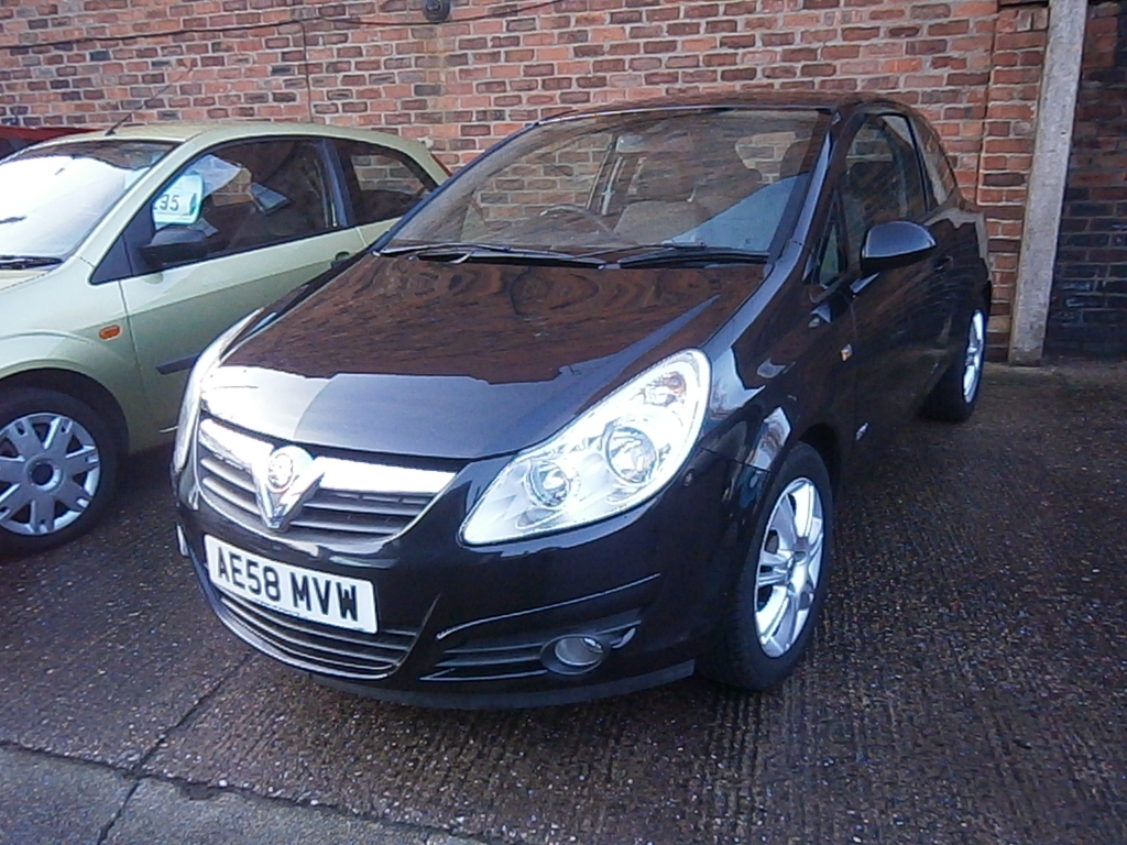VAUXHALL CORSA 1.4 DESIGN 16V 3DR Automatic