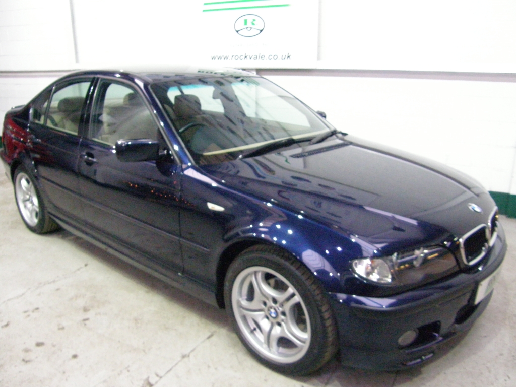 BMW 3 SERIES 2.0 318I SPORT 4DR Manual