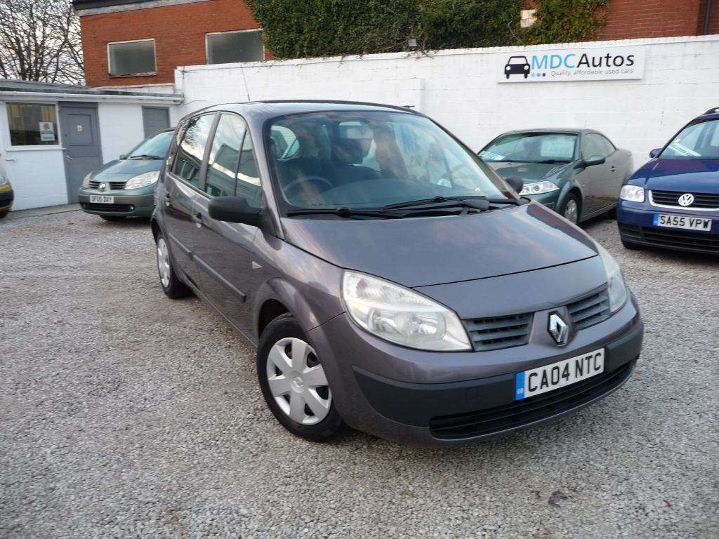 renault scenic 1 4 authentique 16v 5dr manual for sale in chorley rh mdc autos co uk 2006 Renault Scenic Renault Scenic 2002