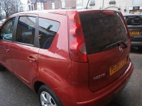 NISSAN NOTE 1.6 TEKNA 5DR Automatic