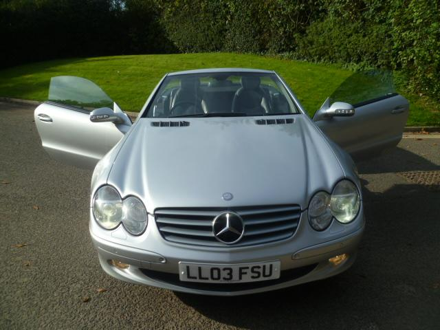 MERCEDES-BENZ SL 3.7 SL350 2DR Automatic
