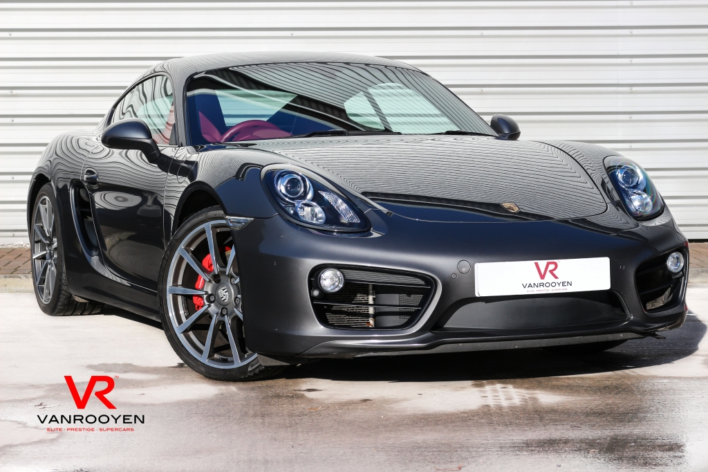 Vr Warrington Porsche Cayman 3 4 24v S Pdk 2dr Semi