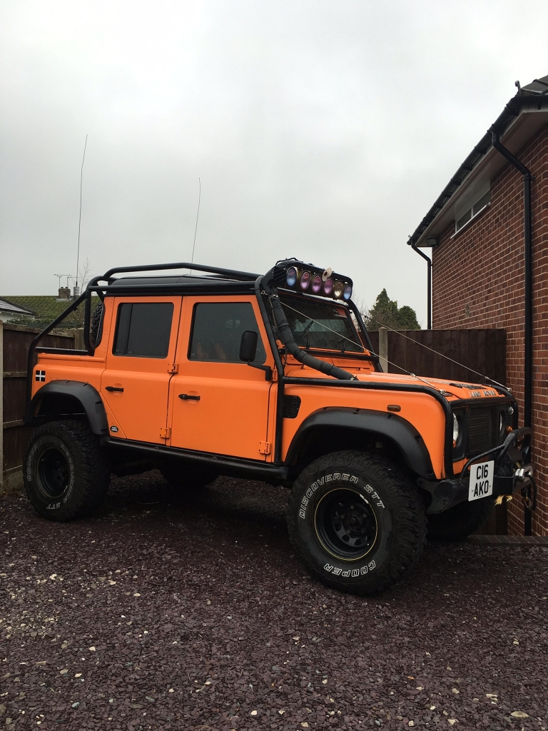 LAND ROVER DEFENDER double cab