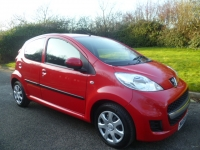 PEUGEOT 107 1.0 URBAN 5DR Manual