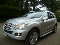 MERCEDES-BENZ M-CLASS 3.0 ML300 CDI BLUEEFFICIENCY SPORT 5DR Automatic