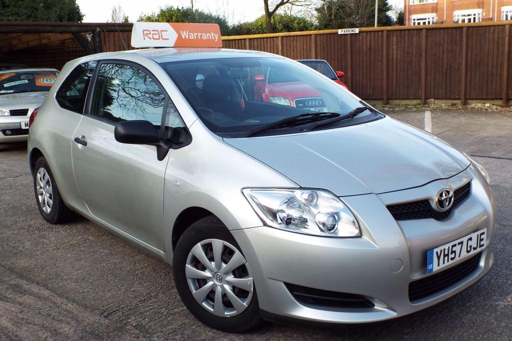 Toyota Auris 1 4 T2 Vvt I 3dr Manual For Sale In Preston