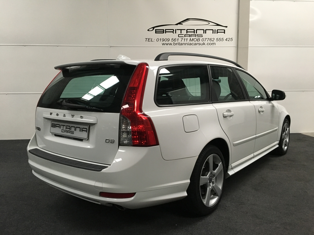 Volvo V50 2 0 D3 R Design 5dr Automatic For Sale In