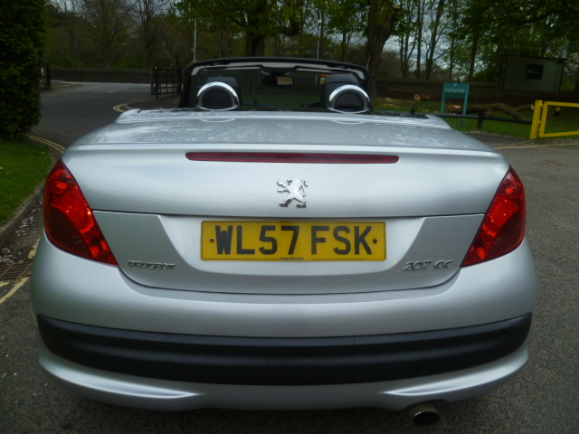 PEUGEOT 207 1.6 GT COUPE CABRIOLET HDI 2DR Manual