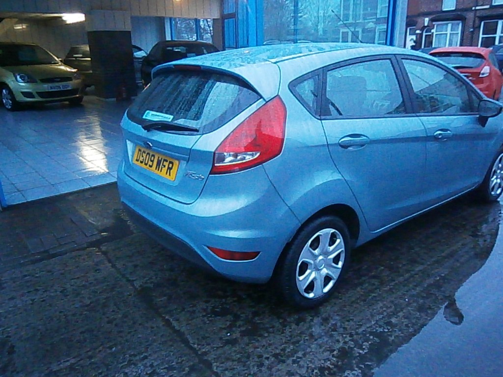 FORD FIESTA 1.4 STYLE PLUS 5DR Automatic