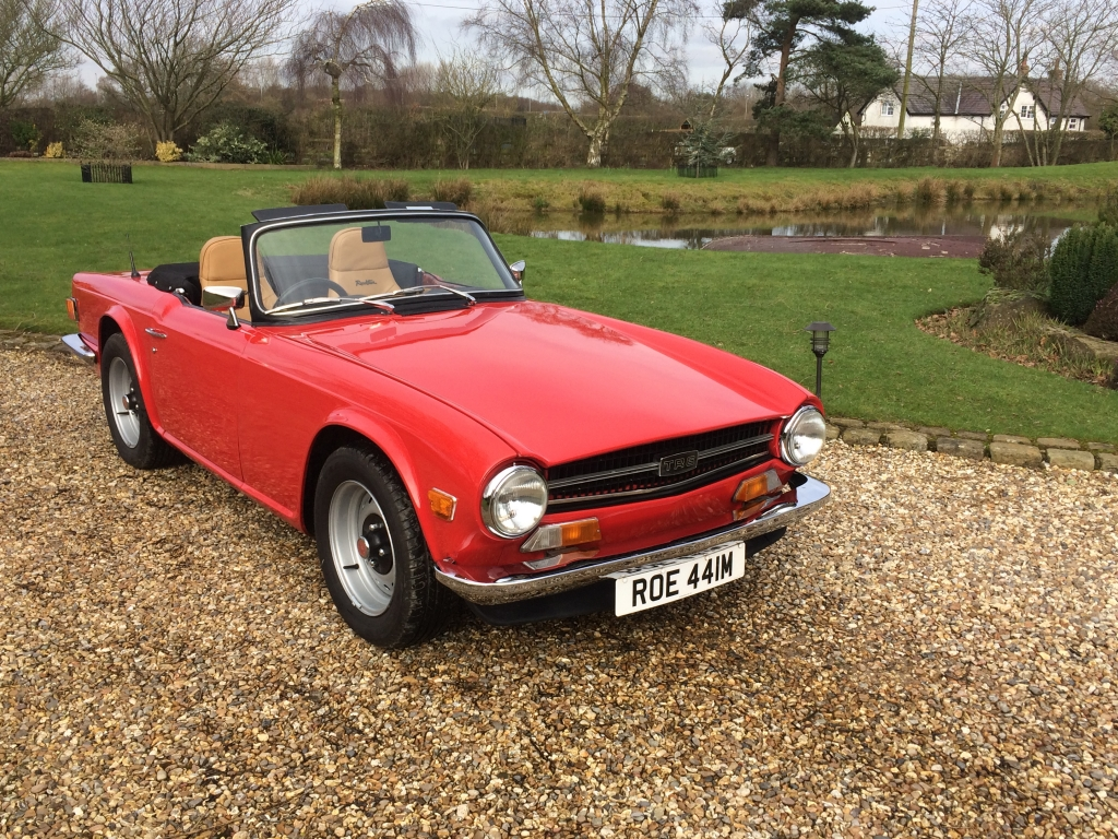 triumph tr6 uk pi car for sale in knutsford t r bitz 2018click to enlarge image