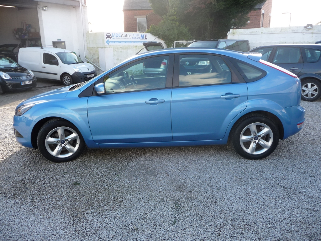 Ford Focus 1 6 Zetec Tdci 5dr Manual For Sale In Chorley