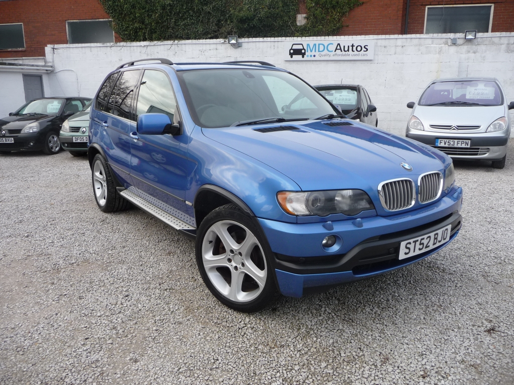 BMW X5 4.6 IS 5DR Automatic For Sale in Chorley - MDC Autos