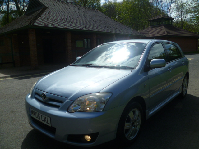 TOYOTA COROLLA 1.4 T3 COLOUR COLLECTION VVT-I 5DR Manual