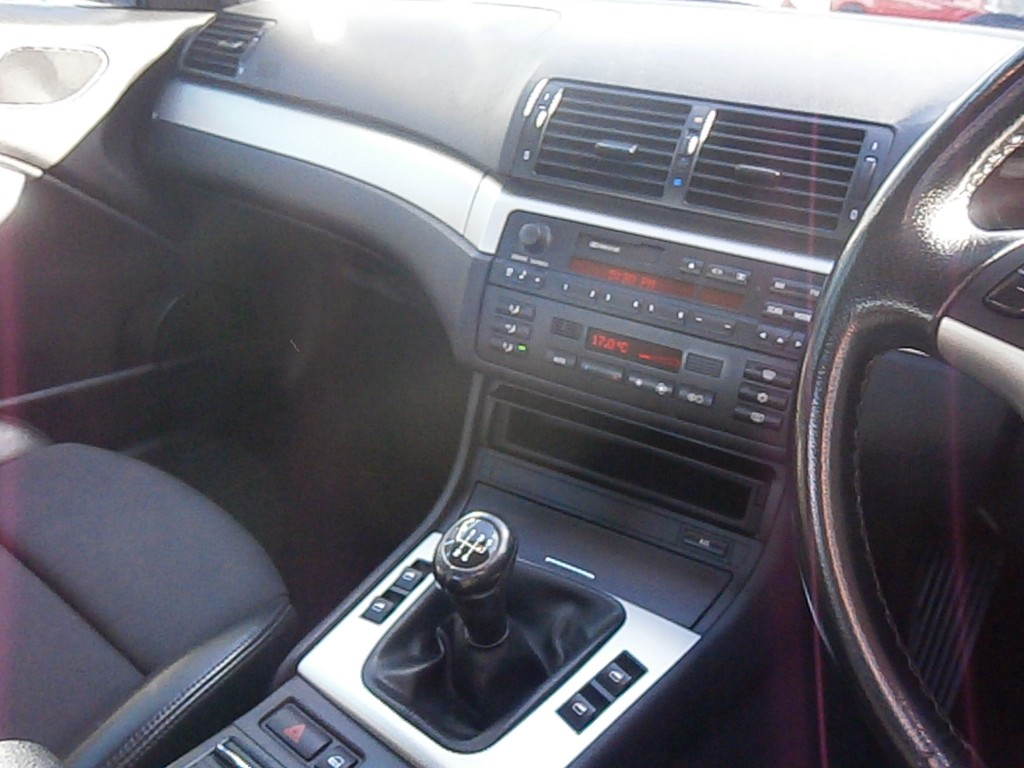 BMW 3 SERIES 2.0 318CI SE 2DR Manual