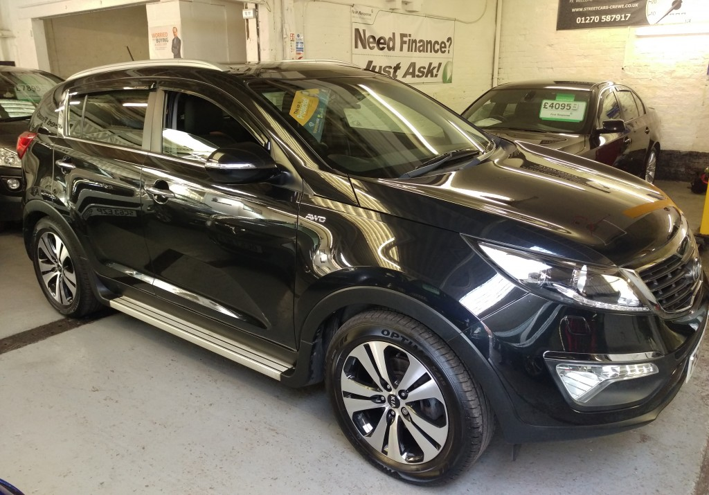 kia sportage 2 0 crdi kx 3 sat nav 5dr manual for sale in. Black Bedroom Furniture Sets. Home Design Ideas