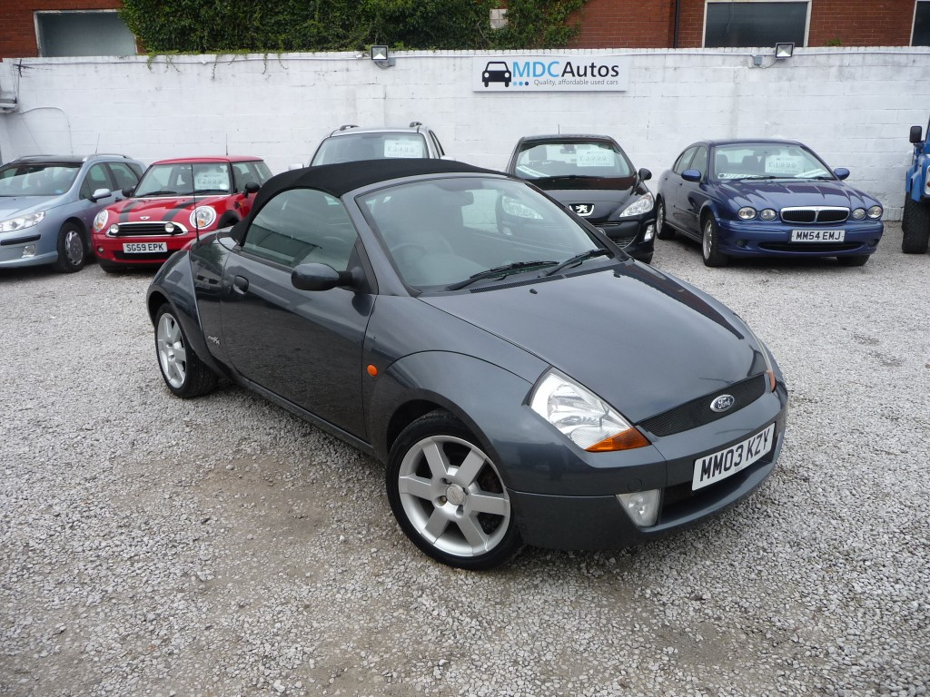 ford streetka 1 6 8v luxury 2dr manual for sale in chorley mdc autos. Black Bedroom Furniture Sets. Home Design Ideas