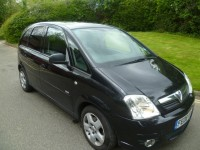 VAUXHALL MERIVA 1.6 DESIGN 16V 5DR Manual