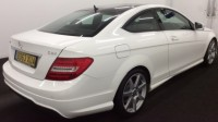 MERCEDES-BENZ C-CLASS 2.1 C220 CDI BLUEEFFICIENCY AMG SPORT 2DR Automatic