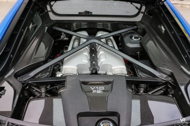 2015 (65) AUDI R8 5.2 V10 PLUS QUATTRO 2DR Semi Automatic | <em>4,282 miles