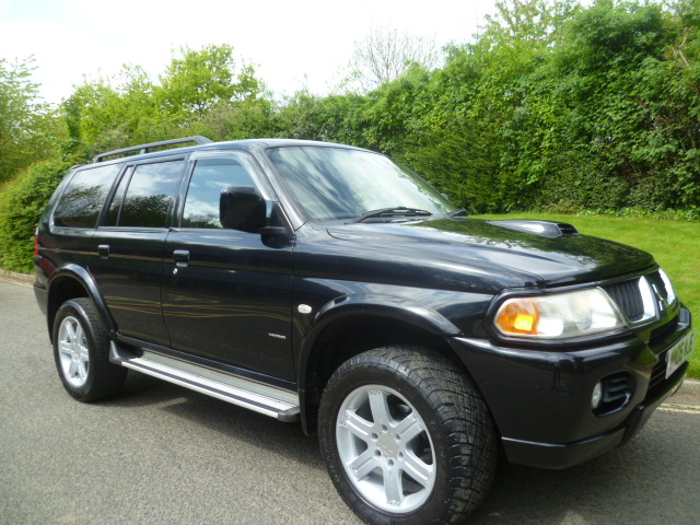 MITSUBISHI SHOGUN SPORT 2.5 WARRIOR TD GLX 5DR Manual