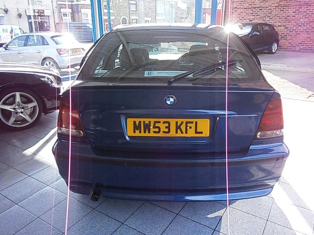 BMW 3 SERIES 1.8 316TI ES 3DR Manual