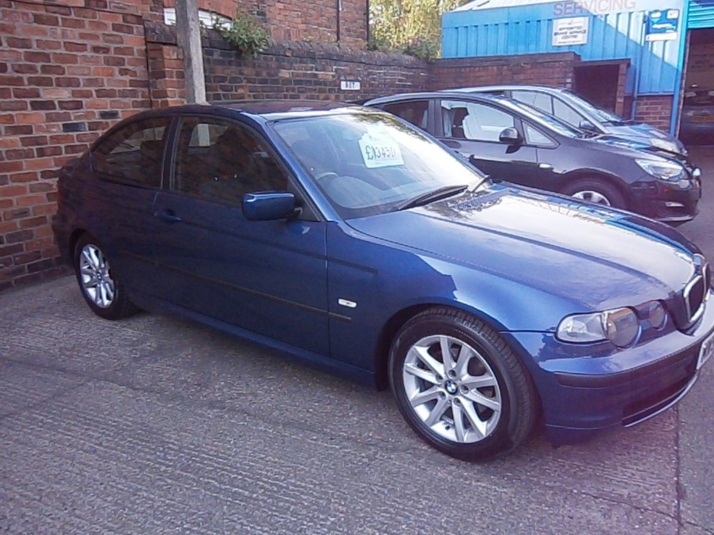 BMW 3 SERIES 1.8 316TI ES 3DR Manual