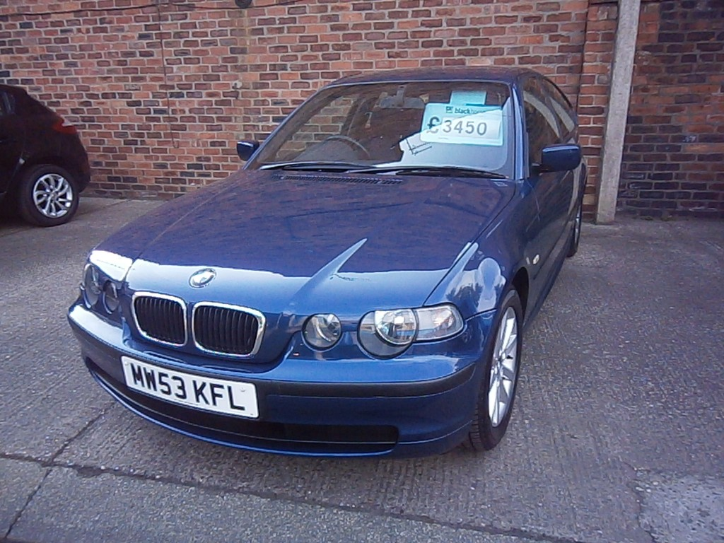 Cars For Sale St Helens >> BMW 3 SERIES 1.8 316TI ES 3DR Manual For Sale in St Helens - L & S Motors