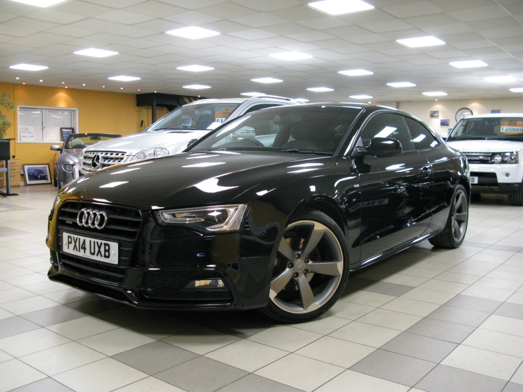 Audi a5 2 0 tdi quattro s line black edition 2dr manual for sale in alfreton direct motors j28 - Audi a5 coupe s line black edition for sale ...