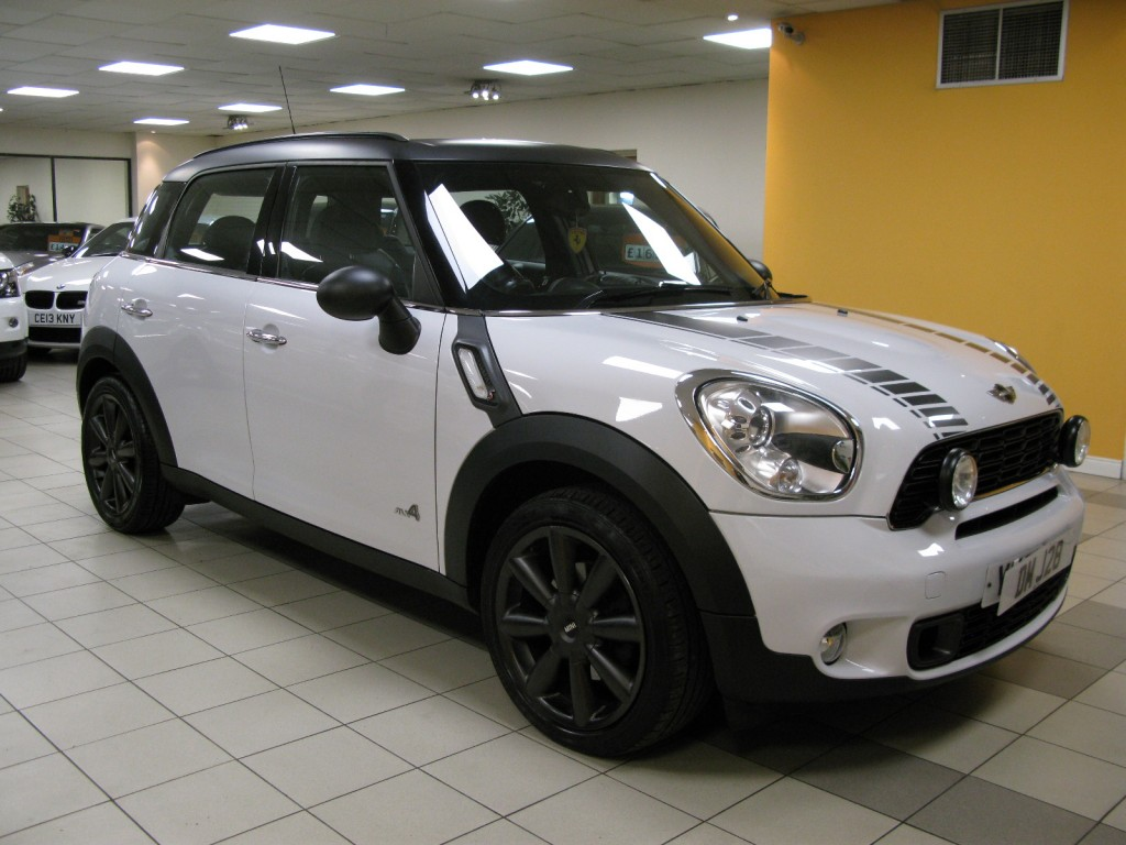 MINI COUNTRYMAN 2.0 COOPER SD ALL4 5DR Manual