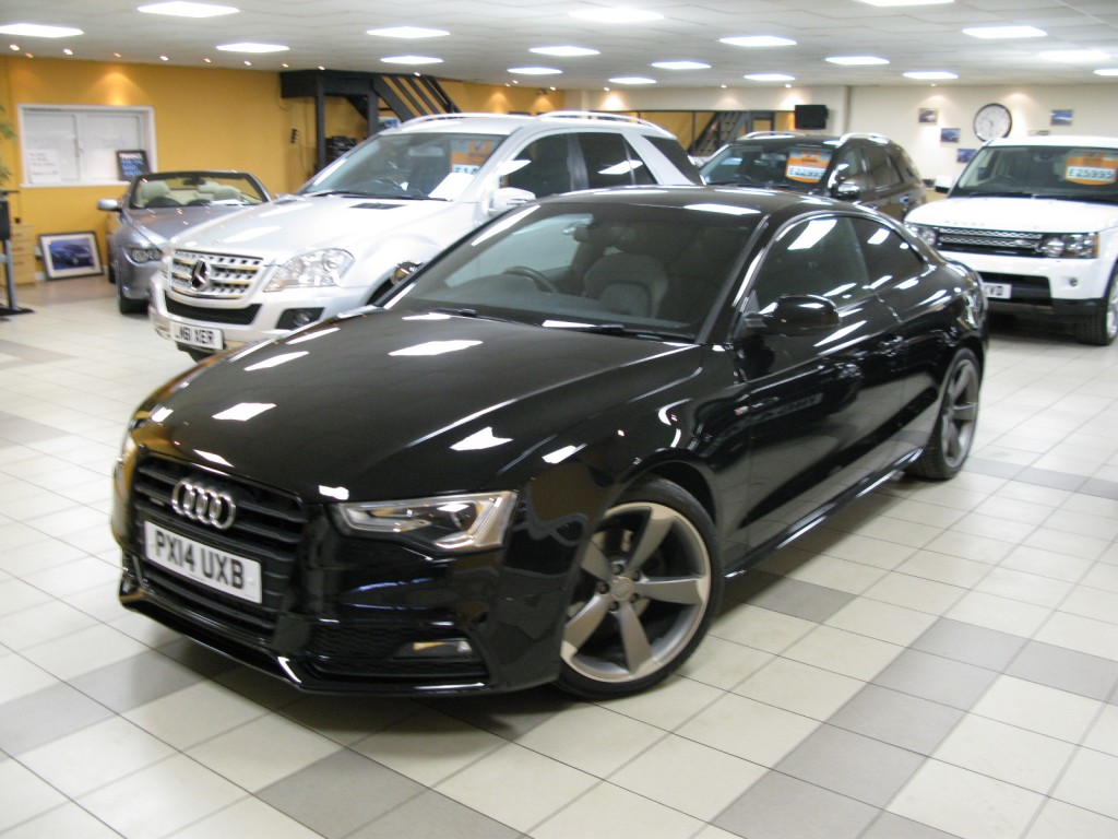 audi a5 2 0 tdi quattro s line black edition 2dr manual for sale in alfreton direct motors j28. Black Bedroom Furniture Sets. Home Design Ideas