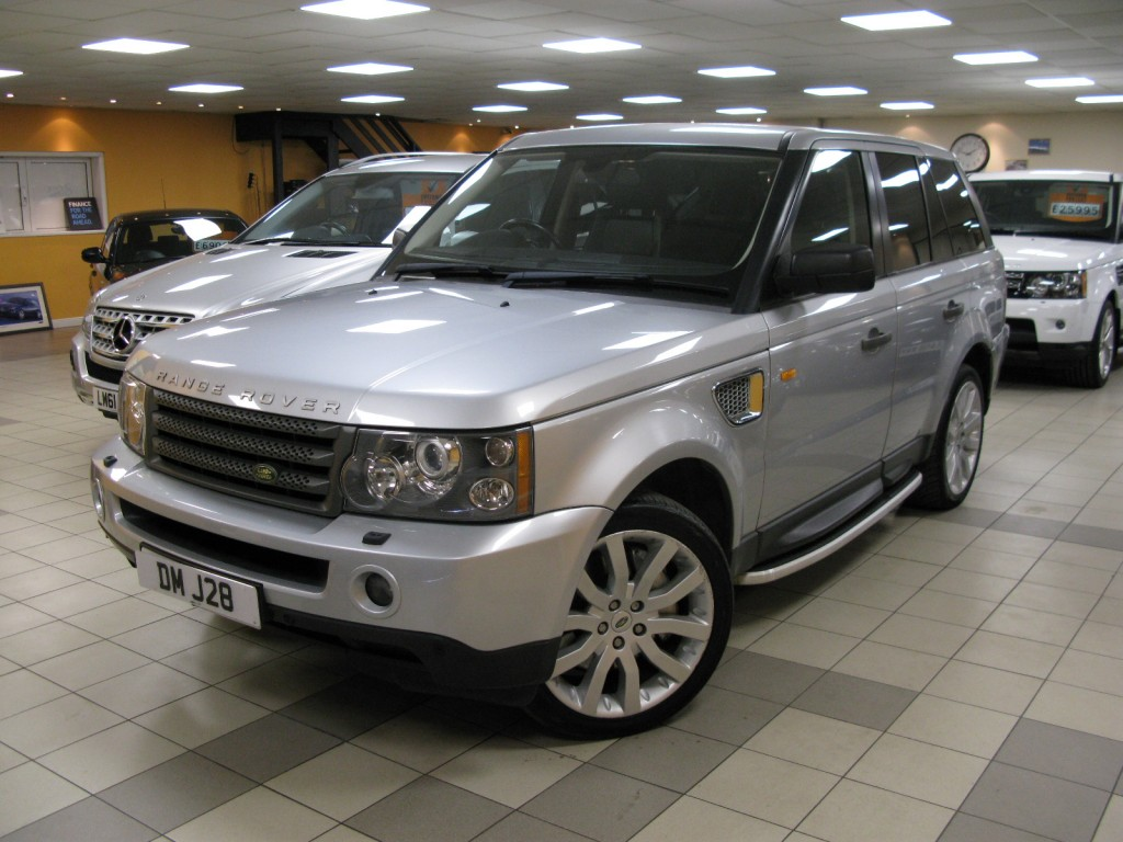 land rover range rover sport 2 7 tdv6 sport hse 5dr automatic for sale in alfreton direct. Black Bedroom Furniture Sets. Home Design Ideas