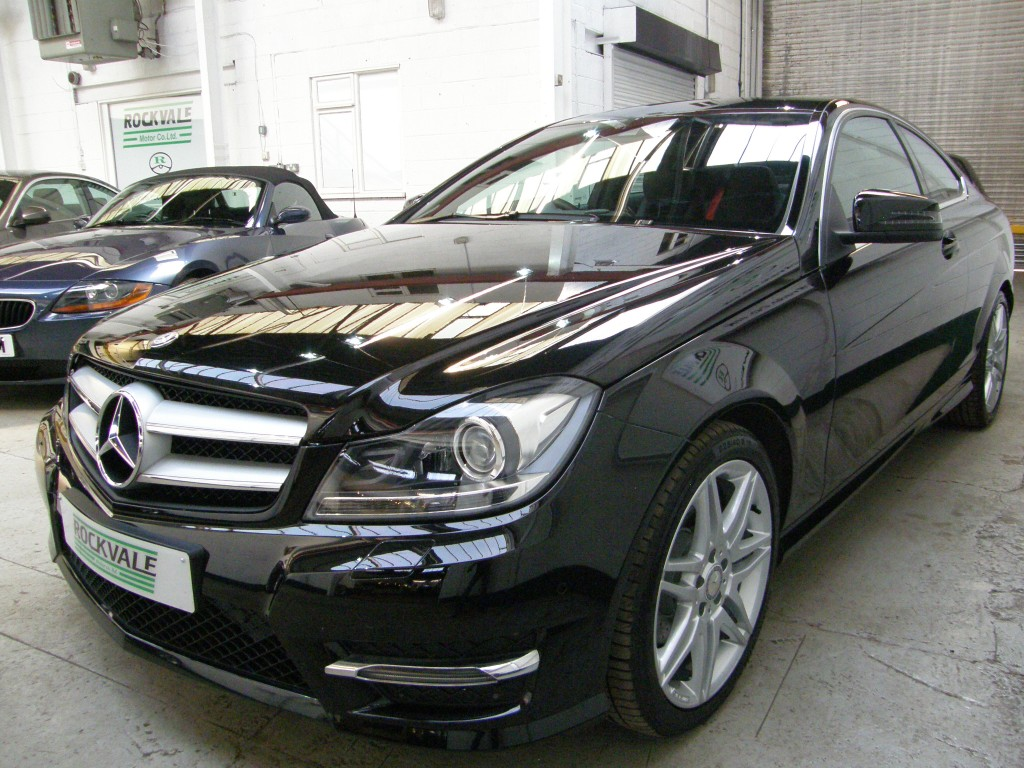 MERCEDES-BENZ C-CLASS 1.8 C250 BLUEEFFICIENCY AMG SPORT PLUS 2DR Automatic