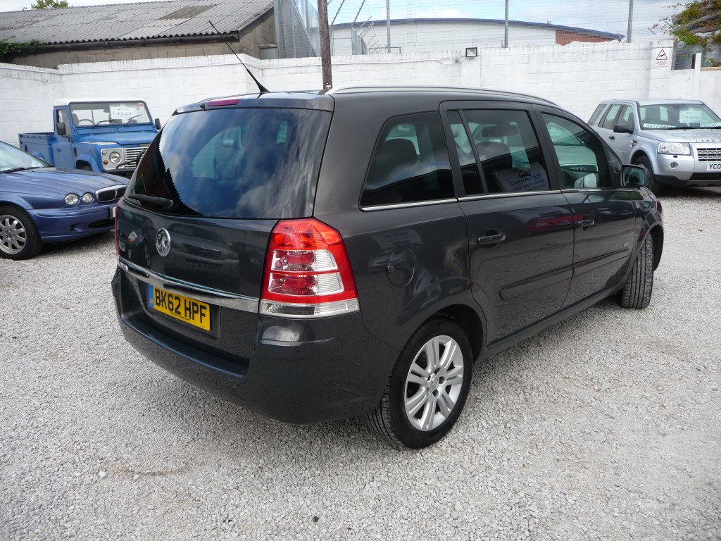 VAUXHALL ZAFIRA 1.7 DESIGN CDTI 5DR Manual