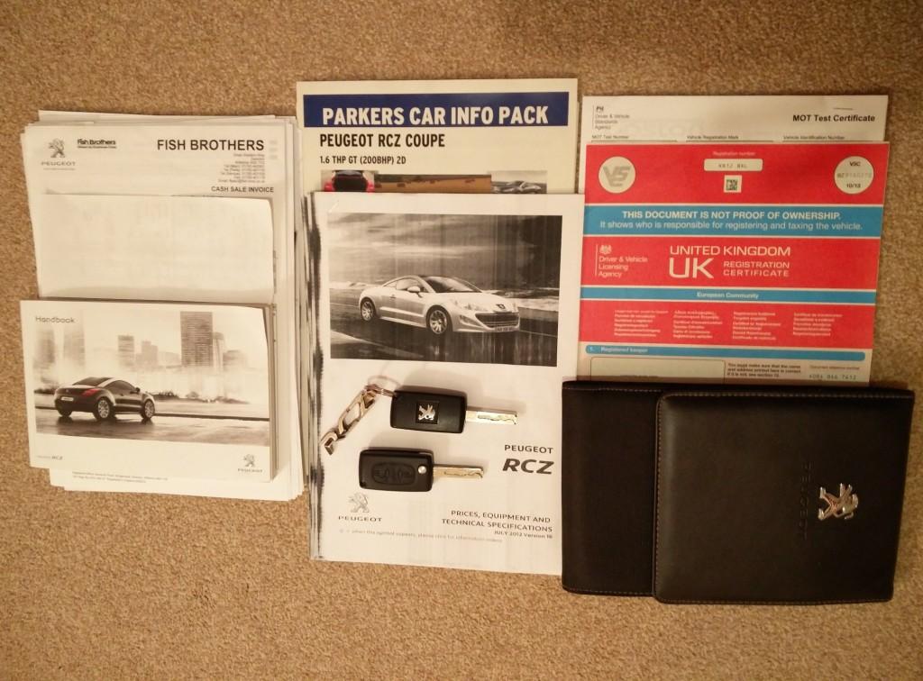 PEUGEOT RCZ 1.6 THP GT 2DR Manual